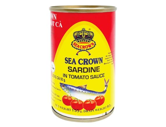Cá Trích Sốt Cà Sea Crown 155G