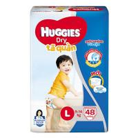 Tã Quần Huggies Dry L48