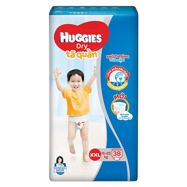 Tã Quần Huggies Dry XXL38