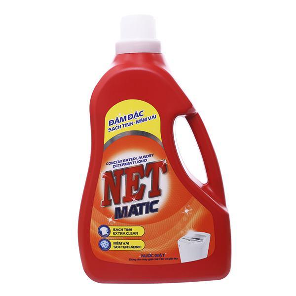 Nước Giặt Net Matic Đậm Đặc Chai 3.6Kg