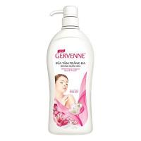 Sữa Tắm Gervenne Trắng Da Tinh Chất Sữa Dê Và Hương Hoa Lily Hồng Chai 900G