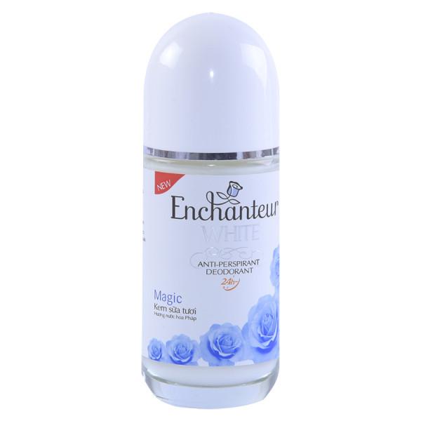 Lăn Khử Mùi Trắng Da Enchanteur Magic 50ml