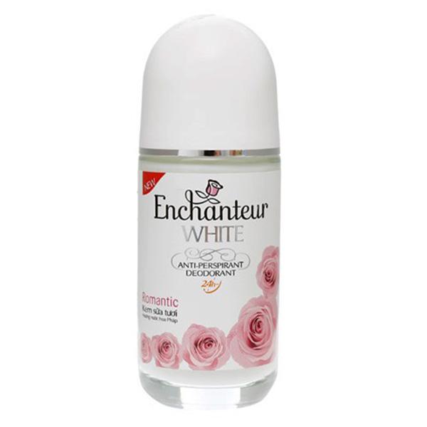Lăn Khử Mùi Trắng Da Enchanteur Romatic 50ml