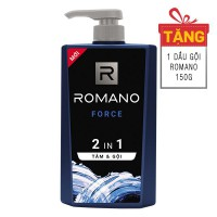 Tắm Gội 2IN1 Romano Force 650G