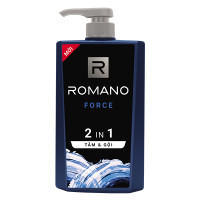 Tắm Gội 2IN1 Romano Force 650G