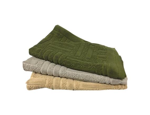 Thảm Khăn Cotton Họa Tiết Sọc 40*60Cm