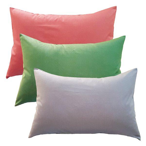 Gối Có Vỏ Cotton Màu Hàn Quốc 40*60Cm
