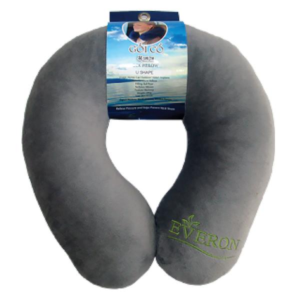 Gối Tựa Cổ Everon Màu Xám 30*33Cm