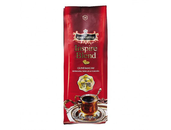 Cà Phê Rang Xay King Coffee Expert Blend Gói 500G