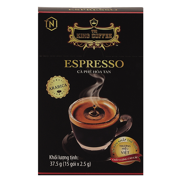Cà Phê King 2IN1 Espresso 15 Gói*2.5G