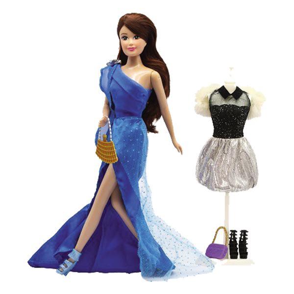 Bộ Đồ Chơi Búp Bê Phối Đồ Dạ Hội Cutie Doll 21867