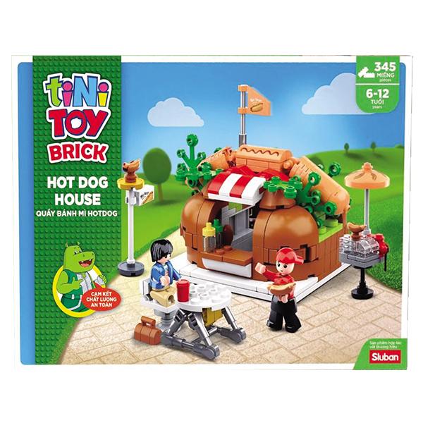 Bộ Đồ Chơi Lắp Ráp Tinytoy Quầy Bánh Mì Hot Dog House YY741950