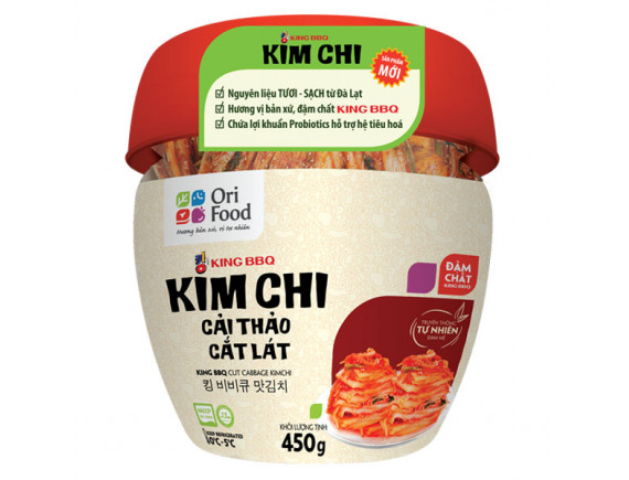 Kim Chi Cải Thảo Cắt Lát King BBQ 450G