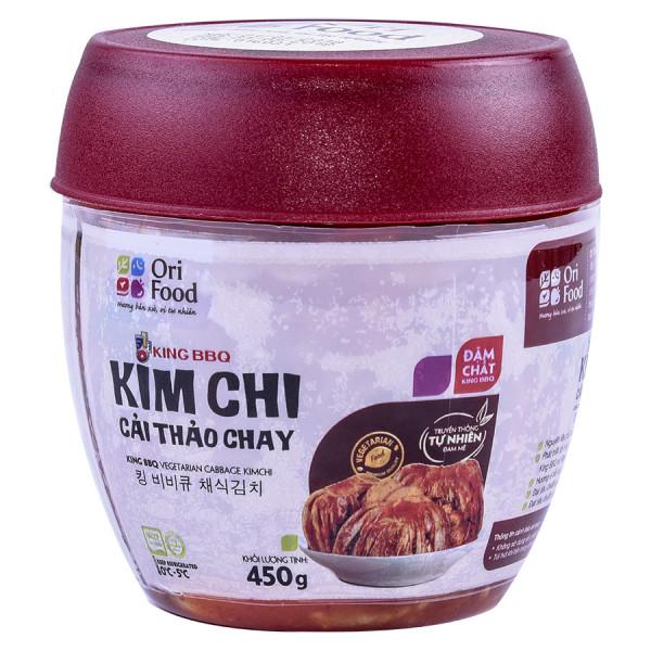 King BBQ Kim Chi Cải Thảo Chay 450G