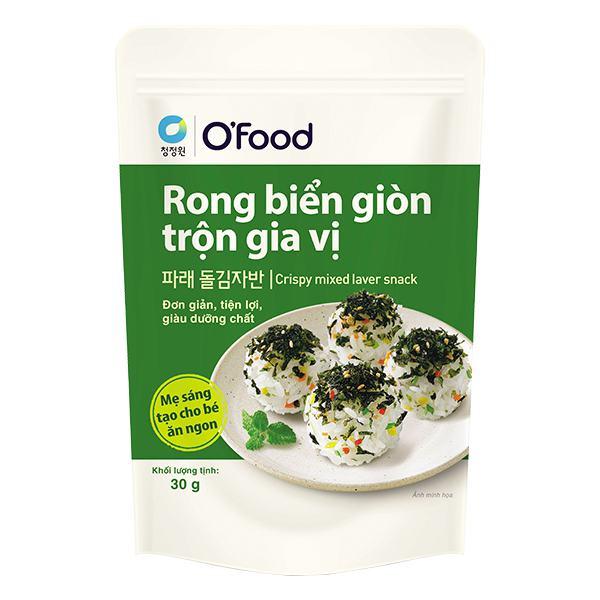Rong Biển Miwon O'Food Giòn Trộn Gia Vị Gói 30G