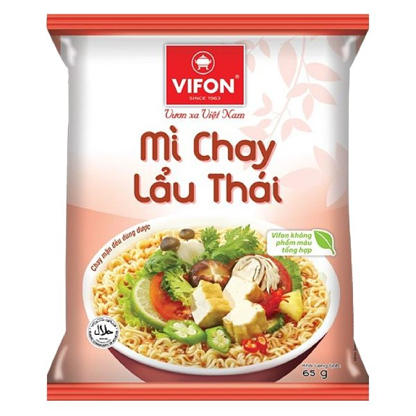 Mì Chay Lẩu Thái Vifon Gói 65G
