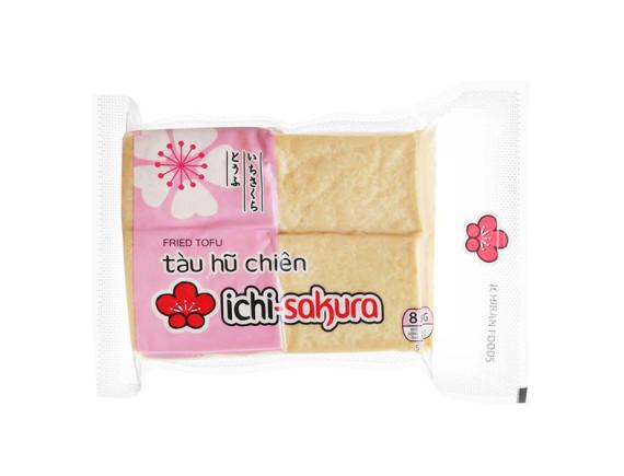 Đậu Hũ Chiên Miếng Ichi-Sakura 500G