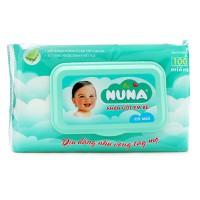 Khăn Ướt Baby Nuna 100 Miếng Có Mùi
