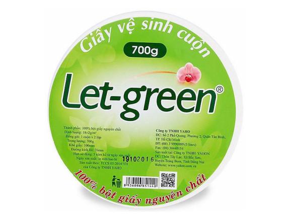 Giấy Vệ Sinh Let Green Cuộn 700G