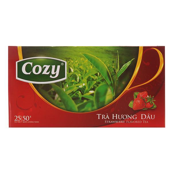 Trà Cozy Hương Dâu 25Gói*2G