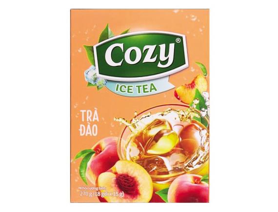 Trà Cozy Ice Tea Hương Đào 18Gói*15G