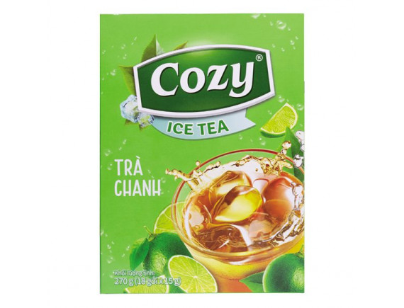 Trà Cozy Ice Tea Hương Chanh 18Gói*15G