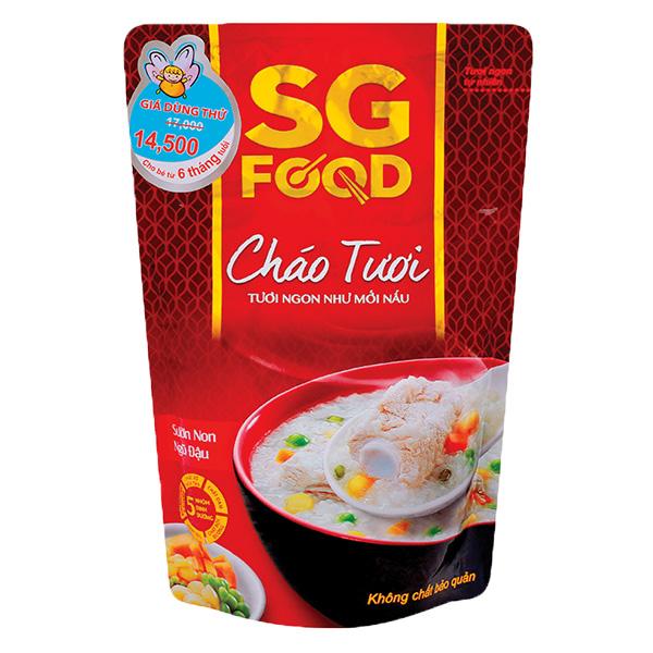 Cháo Tươi SG Food Sườn Non Ngũ Đậu 270G