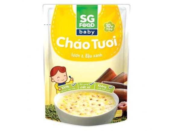 Cháo Tươi SG Food Baby Lươn & Đậu Xanh 240G