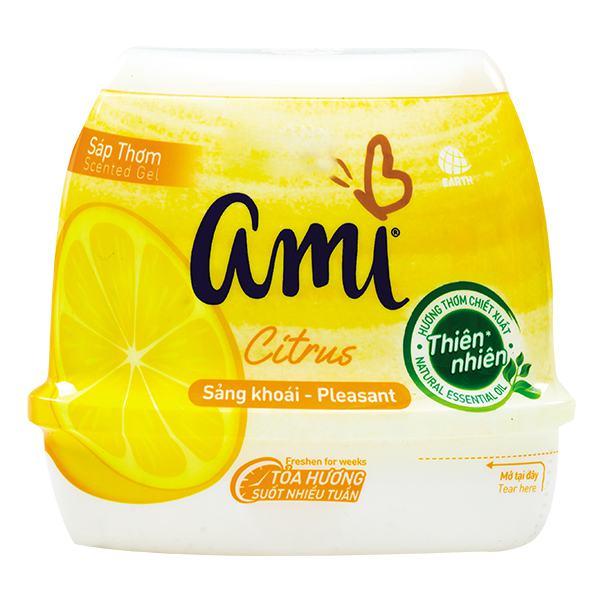 Sáp Thơm Ami Citrus Hương Chanh 200G