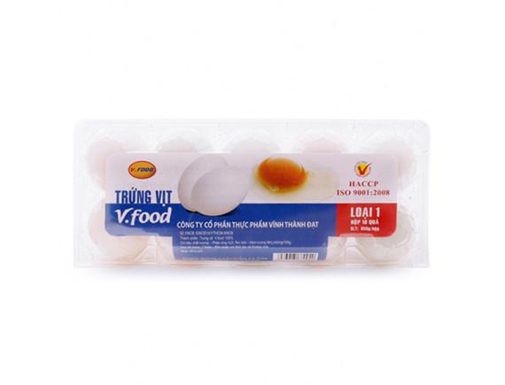 Hộp 10 Trứng Vịt Vfood