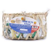 Giỏ 10 Trứng Gà Ta Vfood