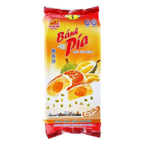 Bánh Pía Đậu Xanh Sầu Riêng 1 Trứng 280G