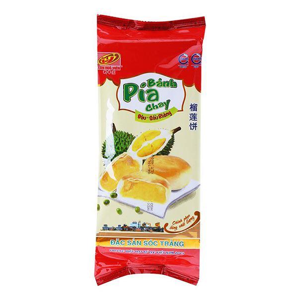 Bánh Pía Chay Đậu Xanh Sầu Riêng 400G