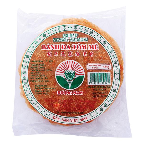 Bánh Đa Tôm Mè Tráng Dứa Hương Nam 454G