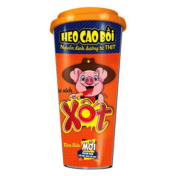 Xúc Xích Tiệt Trùng Cao Bồi Xốt Tôm Sữa Ly 78G