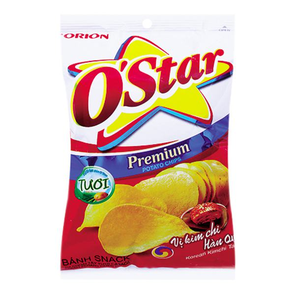 Snack O'star Kimchi Gói 63G