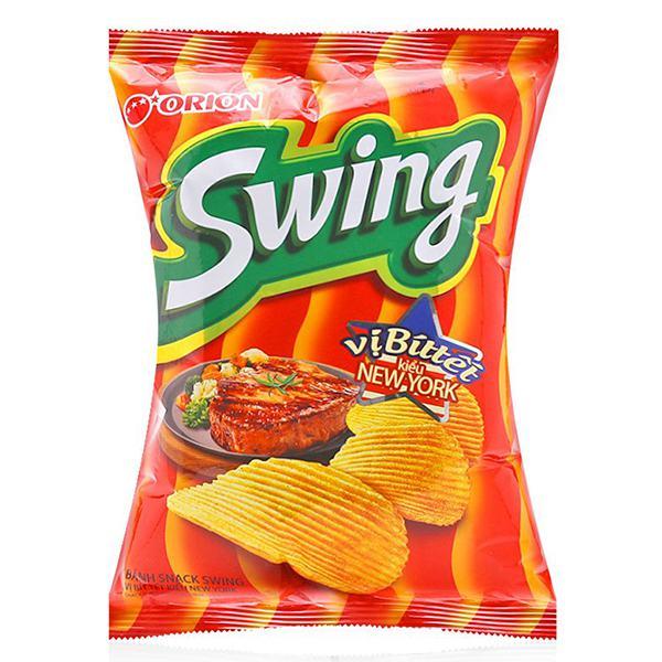 Snack Swing Vị Bò Bít Tết Kiểu New York 63G