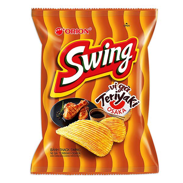 Snack Swing Vị Gà Teriyaki Osaka 108G
