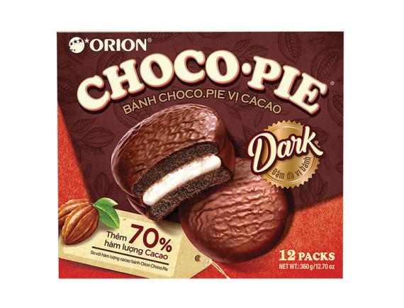 Bánh Choco Pie Vị Ca Cao Hộp 12 Gói*30G