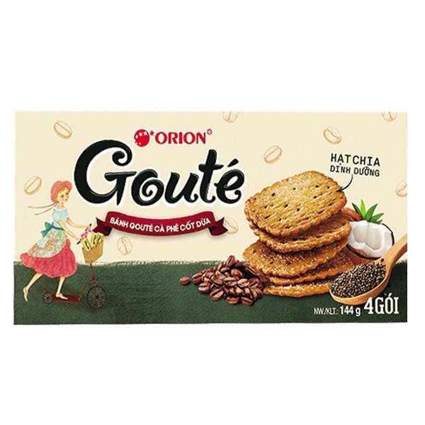 Bánh Goute Cà Phê Cốt Dừa 142G