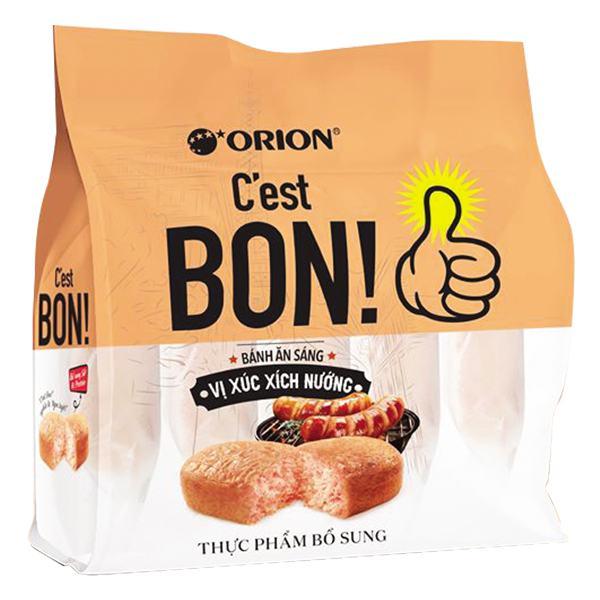 Bánh Ăn Sáng C'est Bon Vị Xúc Xích Nướng 5 Cái*17G