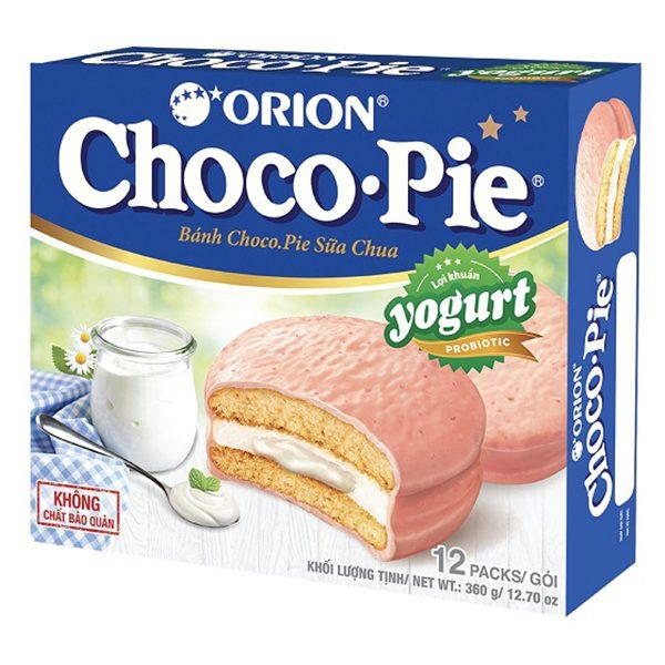 Bánh Choco Pie Vị Yogurt Hộp 12 Gói*30G