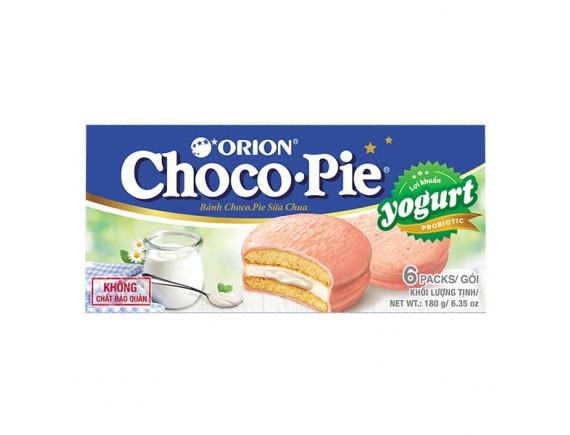 Bánh Choco Pie Vị Yogurt Hộp 6 Gói*30G