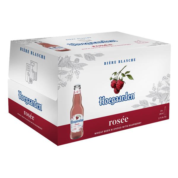 Bia Hoegaarden Rosee Thùng 24 Chai 248Ml