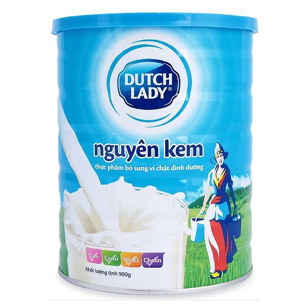 Sữa Dinh Dưỡng Cô Gái Hà Lan Nguyên Kem Vani Hộp Thiếc 900G