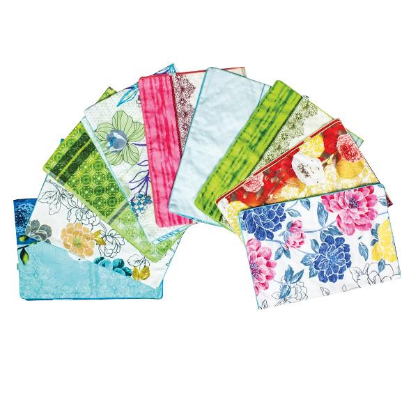 Áo Gối Cotton Hoa 50*70Cm