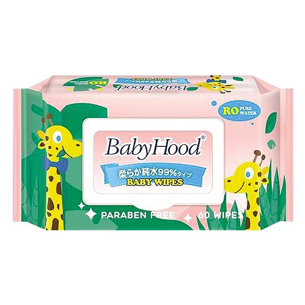 Khăn Ướt Baby Hood 60 Miếng