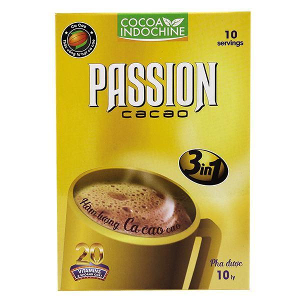 Bột Cacao Passion 3IN1 Hộp Giấy 150G
