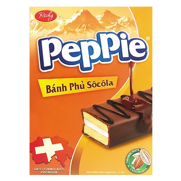 Bánh Peppie Socola 240G