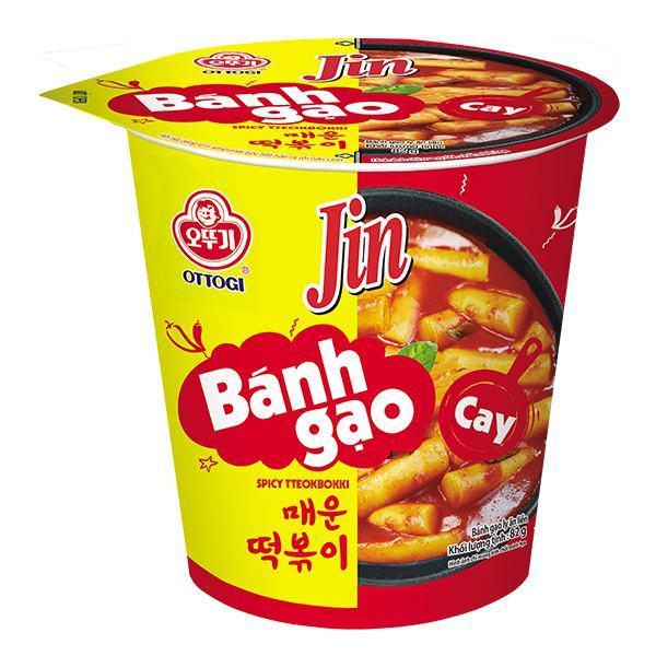 Bánh Gạo Ottogi Jin Vị Cay Ly 82G